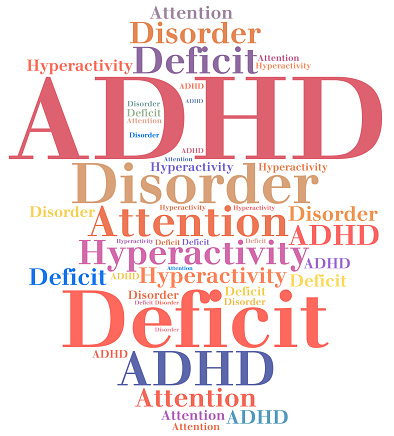 istock ADHD - Attention deficit hyperactivity disorder. 510310654