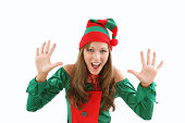 istock Attention getting Elf 172285143