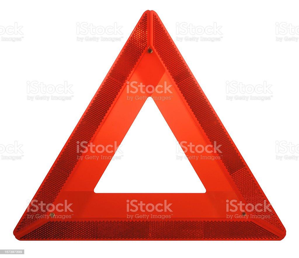 Attenzione: Rosso pericolo pericolo te simbolo di avviso di sicurezza di emergenza - foto stock