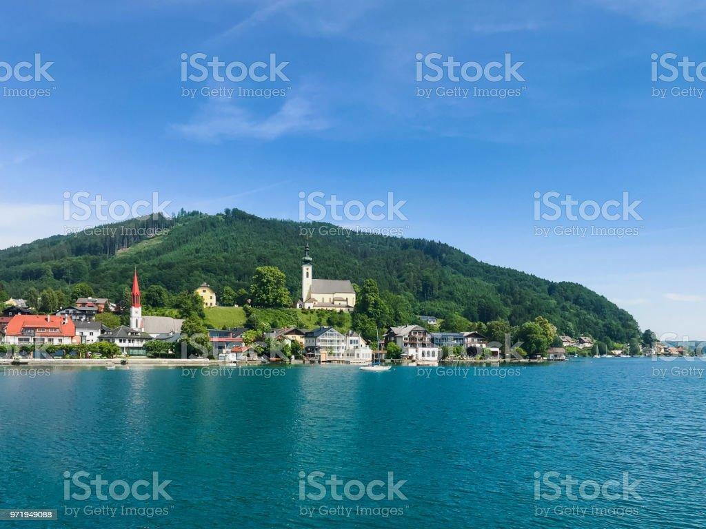 Attersee am See im österreichischen Salzkammergut – Foto