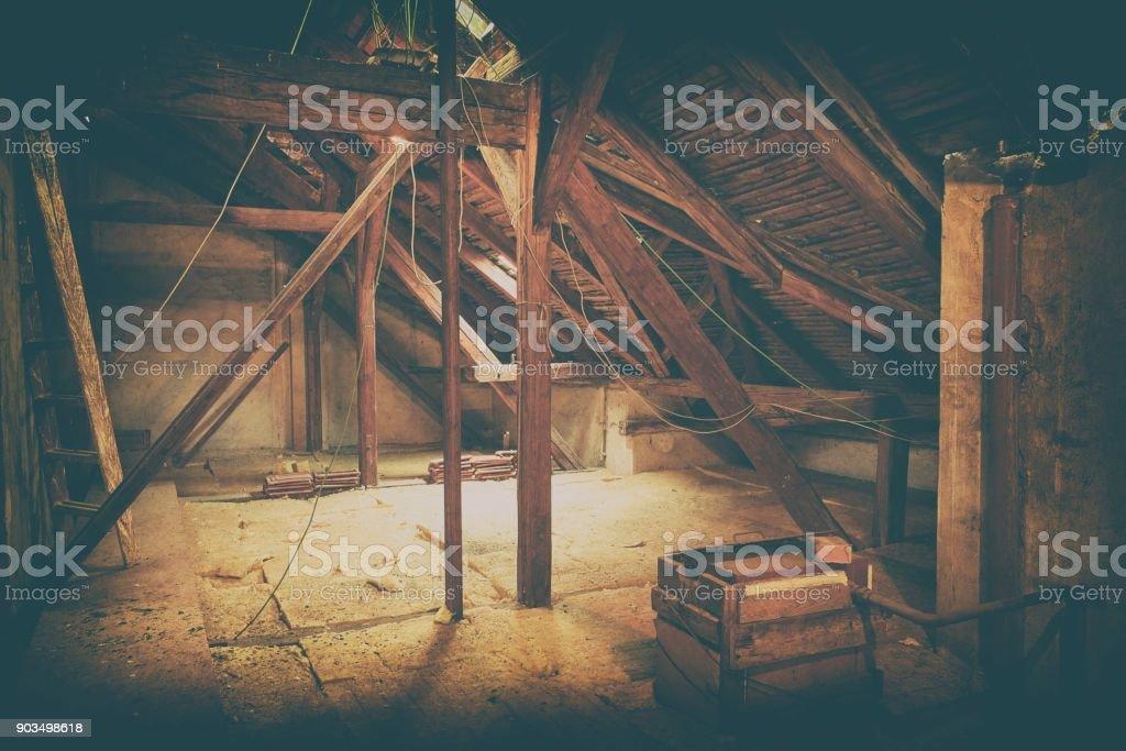Dachboden Dachboden Isolierung Alten Dachboden Sanierung Und