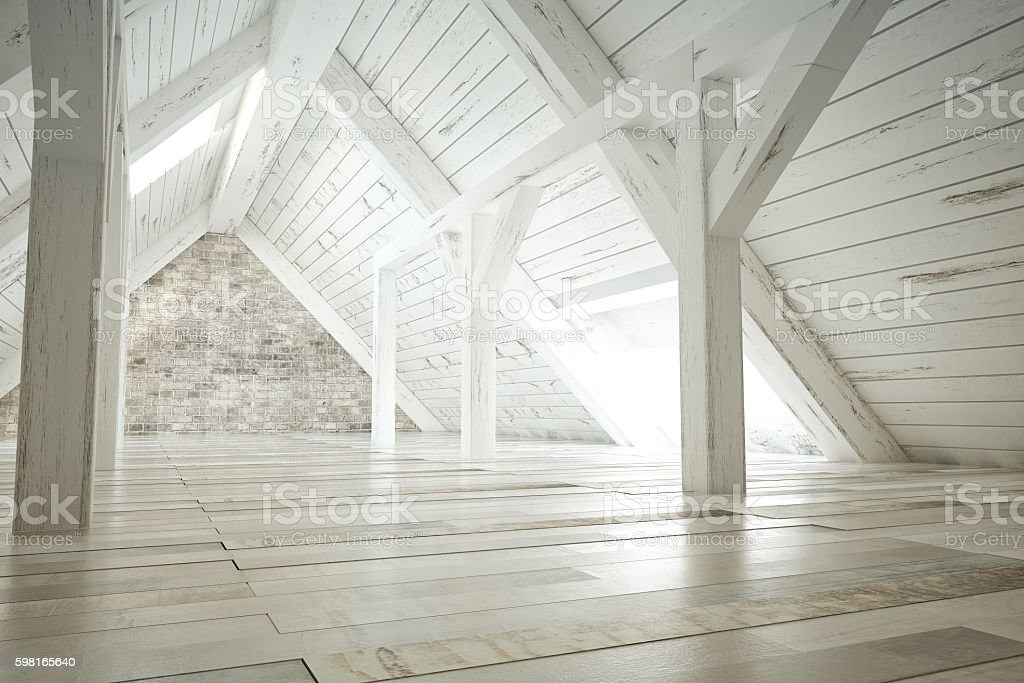 Attic stock photo