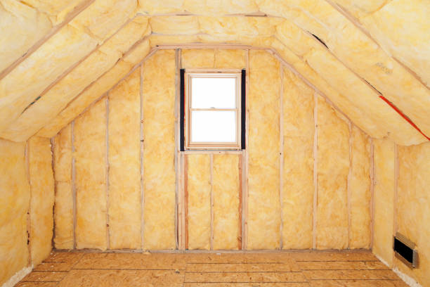 Attic Room Insulation, Frame and Window  attic stock pictures, royalty-free photos & images