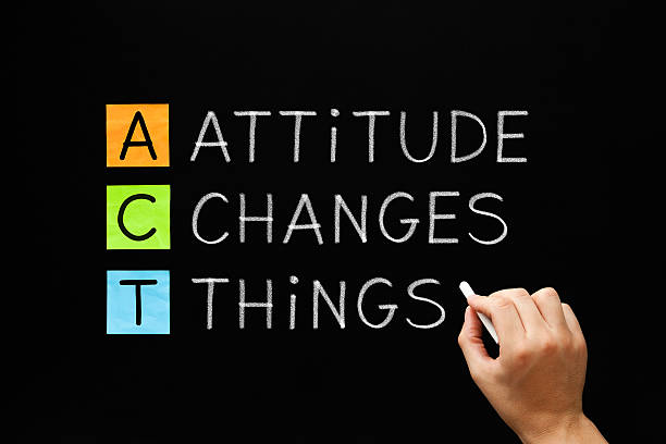 attitude changes things - attitude stock photos and pictures