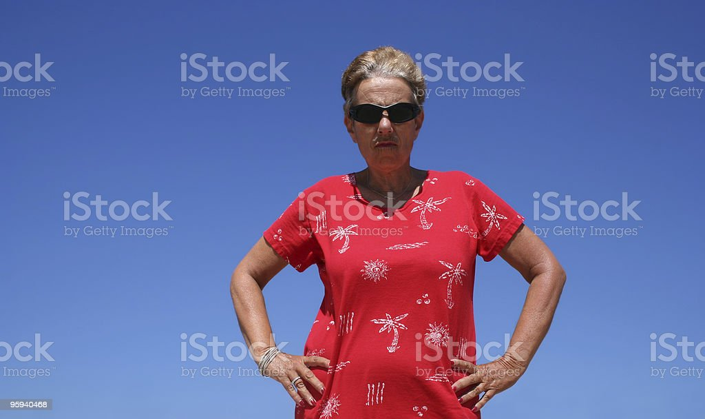 Attitude royalty-free stock photo