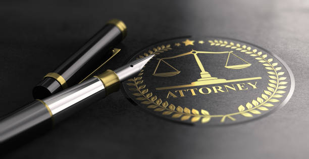 attorney at law - badge logo stock pictures, royalty-free photos & images