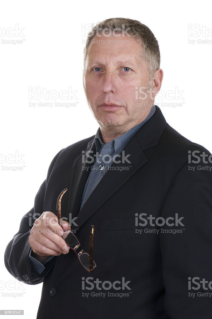 Attorney Or Business Executive royalty-free stock photo
