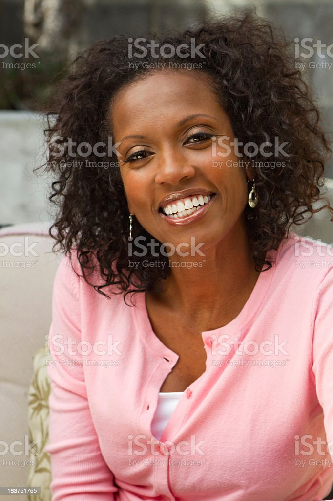 Attractive African American Woman royalty-free stock photo