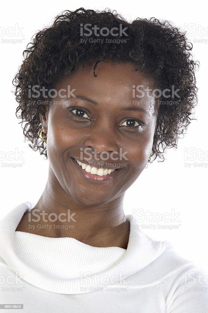 Atrakcyjny African woman zbiór zdjęć royalty-free
