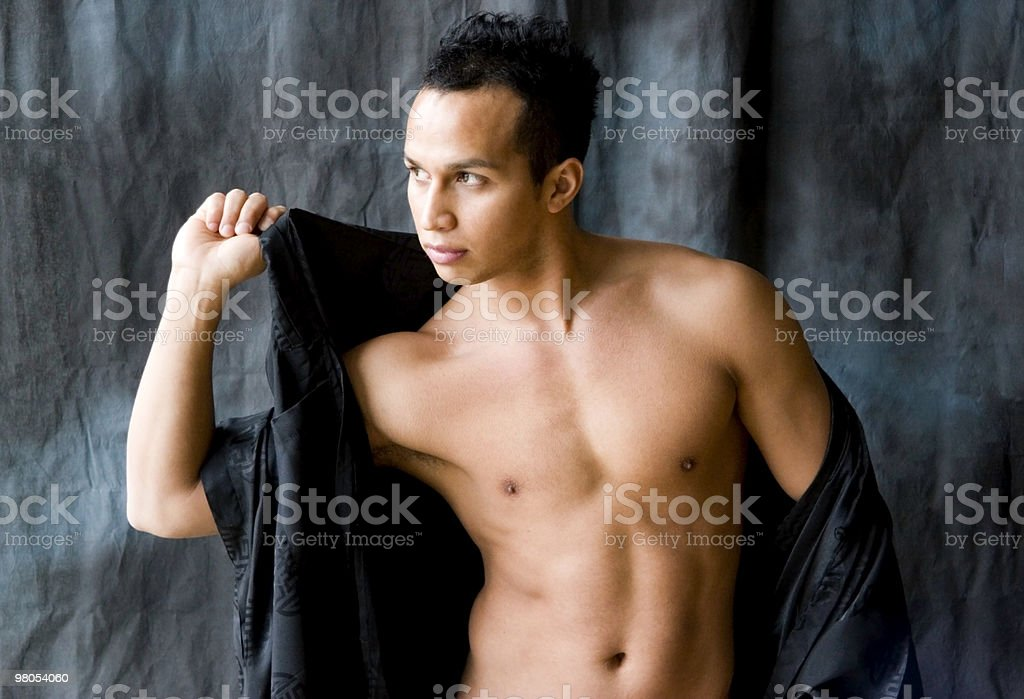 Attractive and Fit Latino Man royalty-free stock photo