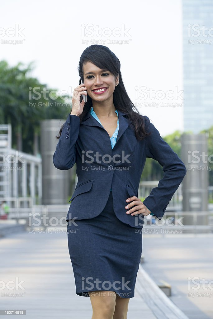 Attractive Asian Businesswoman royalty-free stock photo
