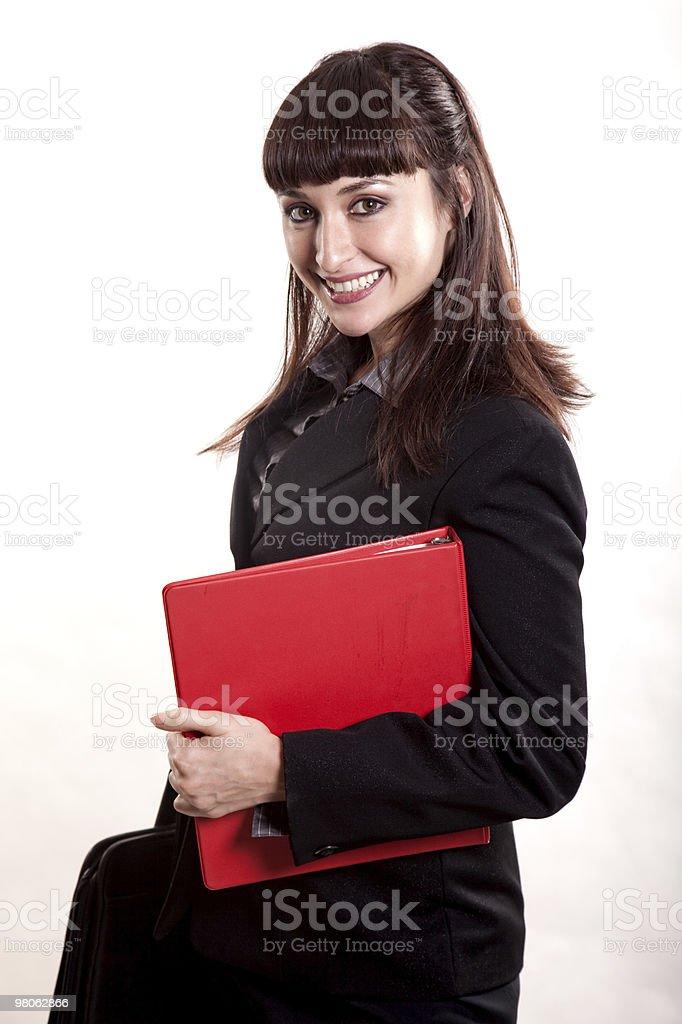 Attractive asian korean businesswoman royalty-free stock photo