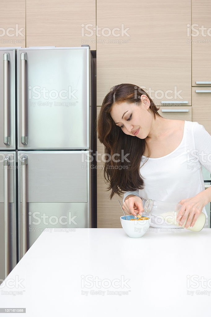 Attractive Asian Woman royalty-free stock photo