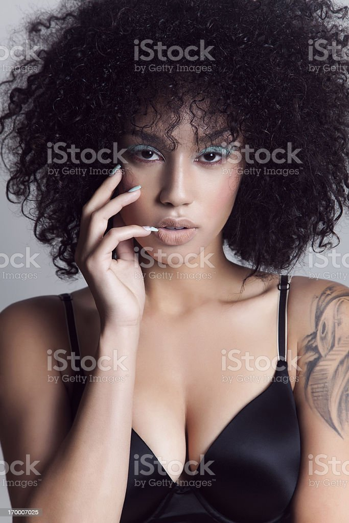 Attractive beauty royalty-free stock photo
