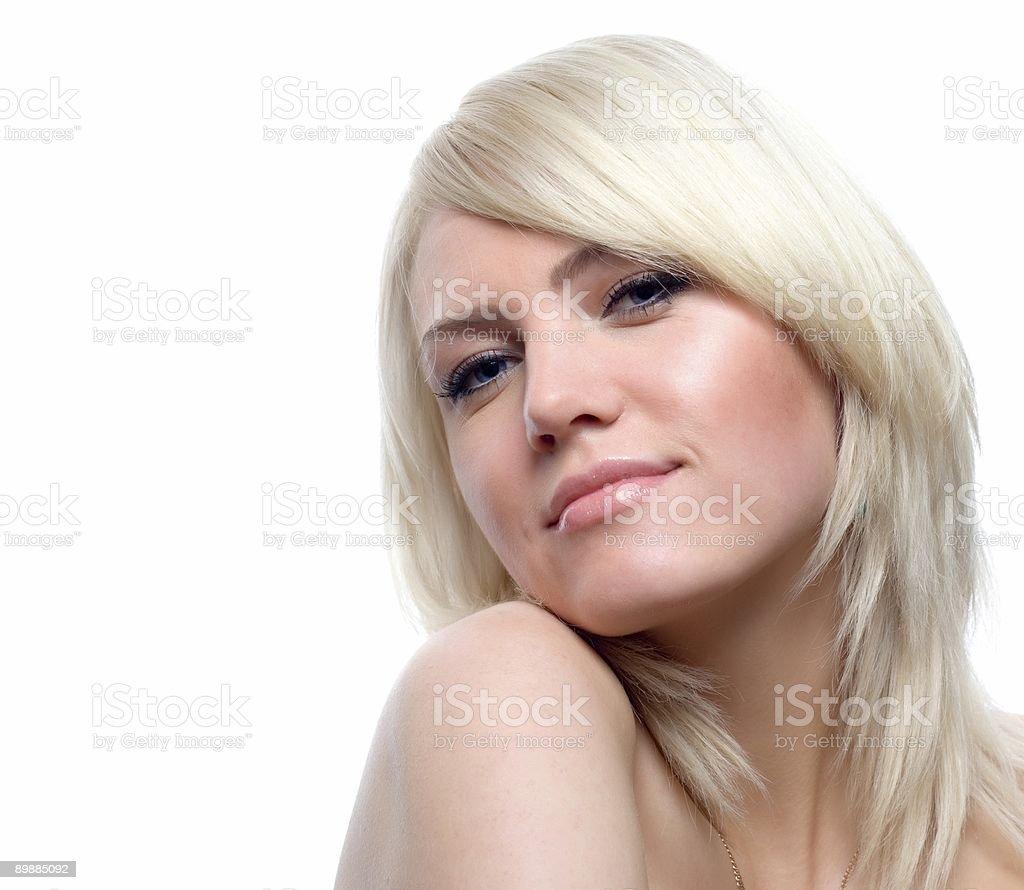 Attraktiven blonden Lizenzfreies stock-foto