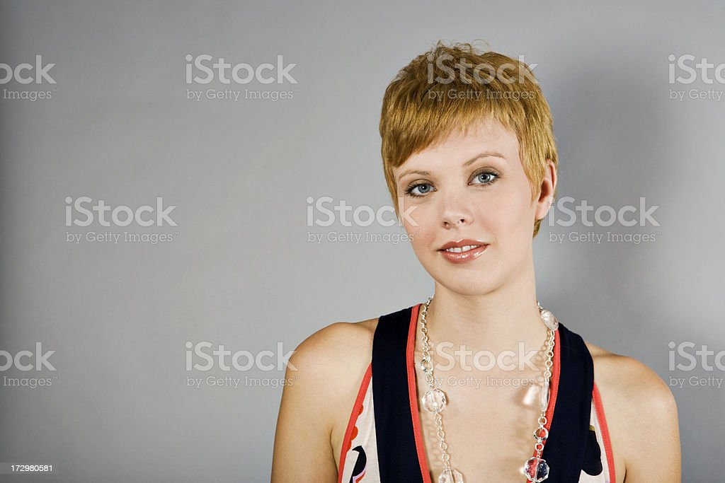 Attractive Blonde female royalty-free stock photo