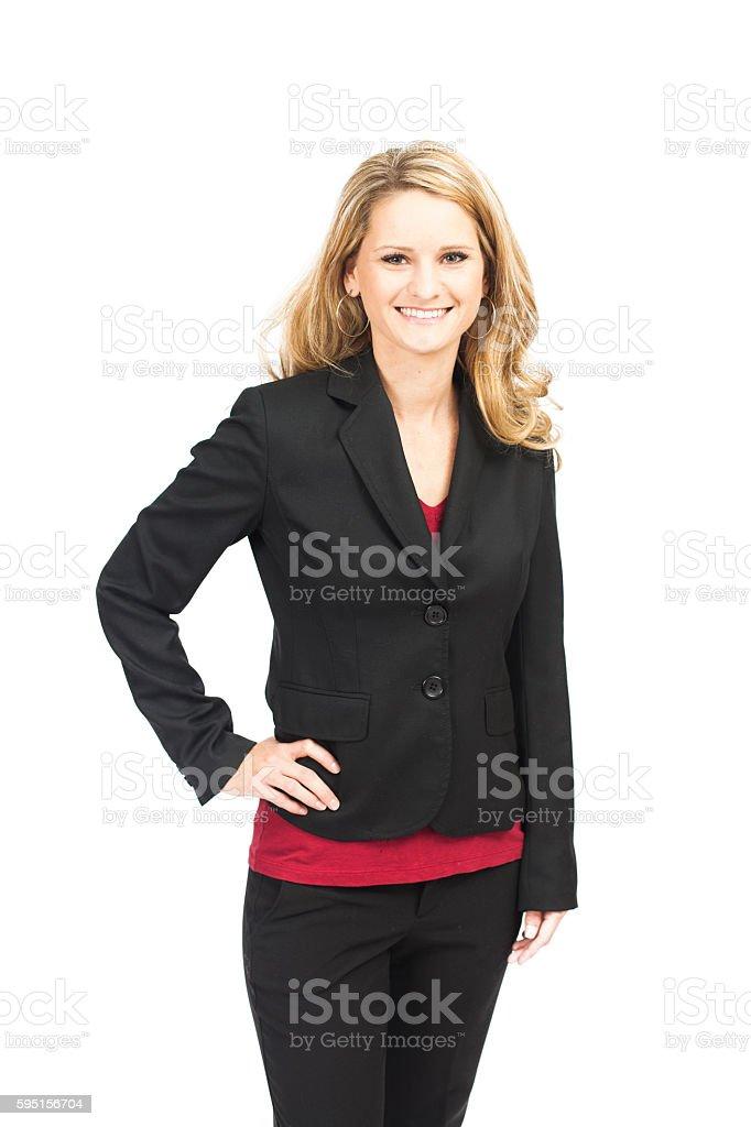 Attractive Business Woman Portrait stock photo
