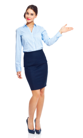 Attractive Businesswoman Stock Photo - Download Image Now
