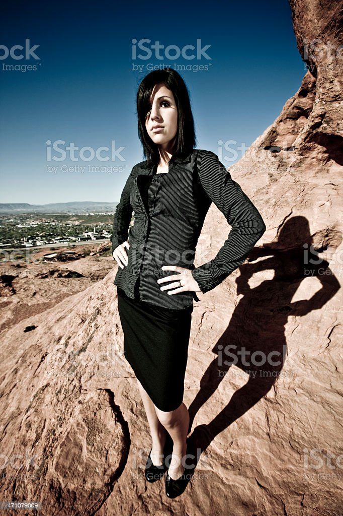 Attractive Businesswoman royalty-free stock photo