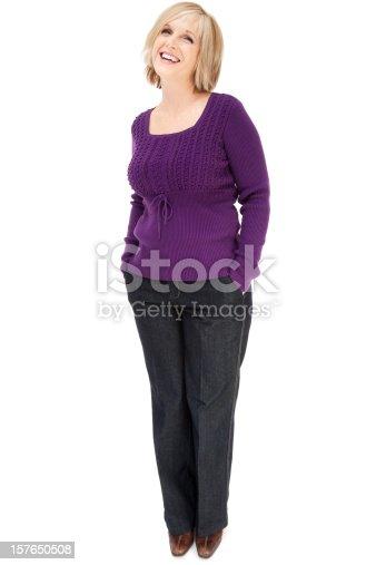 istock Attractive Casual Mature Woman 157650508