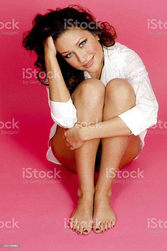 Attractive Casual Woman stock photo