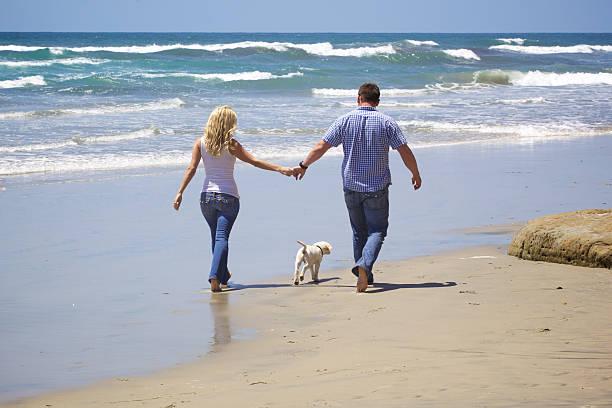 Attractive couple walking on the beach with their puppy picture id476972862?b=1&k=6&m=476972862&s=612x612&w=0&h=yvbqiupqab9gvs0p ws0rwwalojbofi nxnp8mmbzpw=