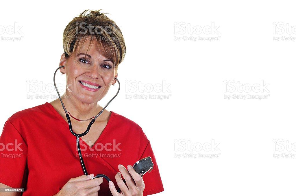 Attractive Female Nurse royalty-free stock photo
