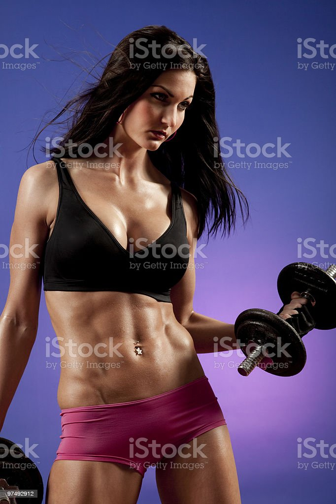 Attractive Fitness Woman royalty-free stock photo