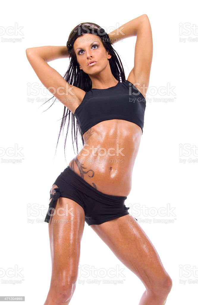 Attractive girl. - Royalty-free Active Lifestyle Stock Photo