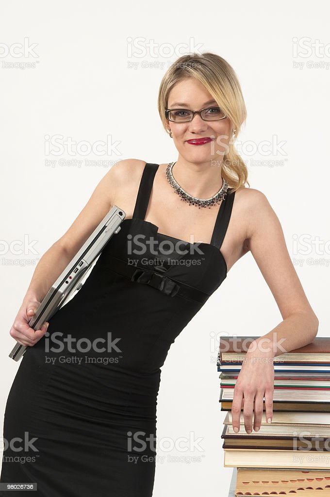 Attractive girl portrait royalty-free stock photo