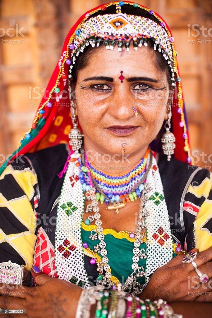 Attractive Indian Woman Portrait stock photo