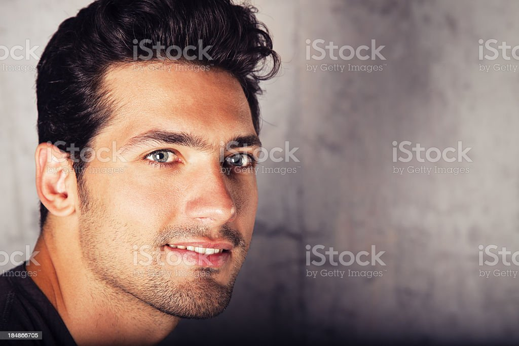 Attractive Male Model stock photo