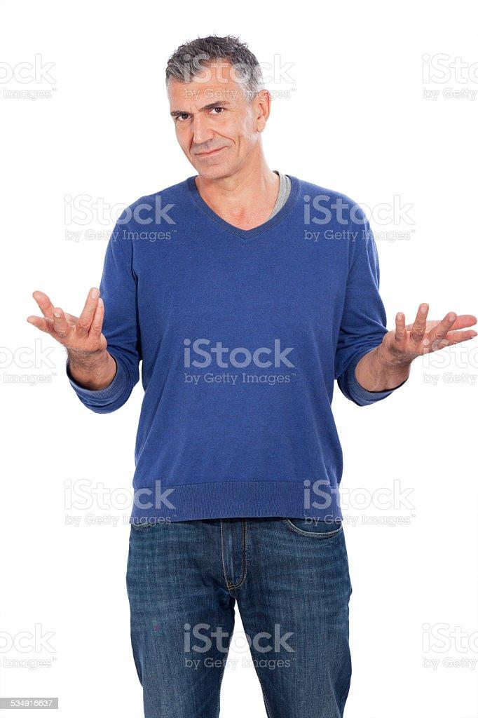 attractive man stock photo