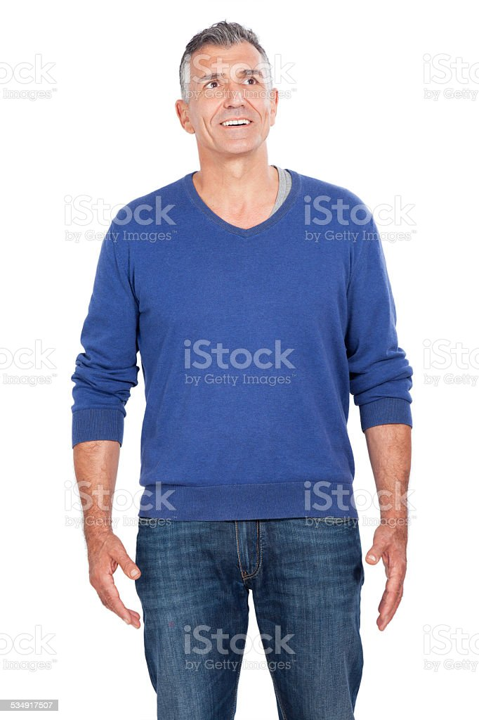 attractive man stock photo