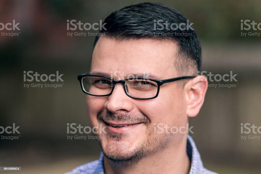 Homem atraente retrato profissional - Foto de stock de Adulto royalty-free