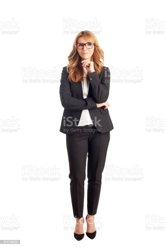 Attractive mature businesswoman стоковое фото