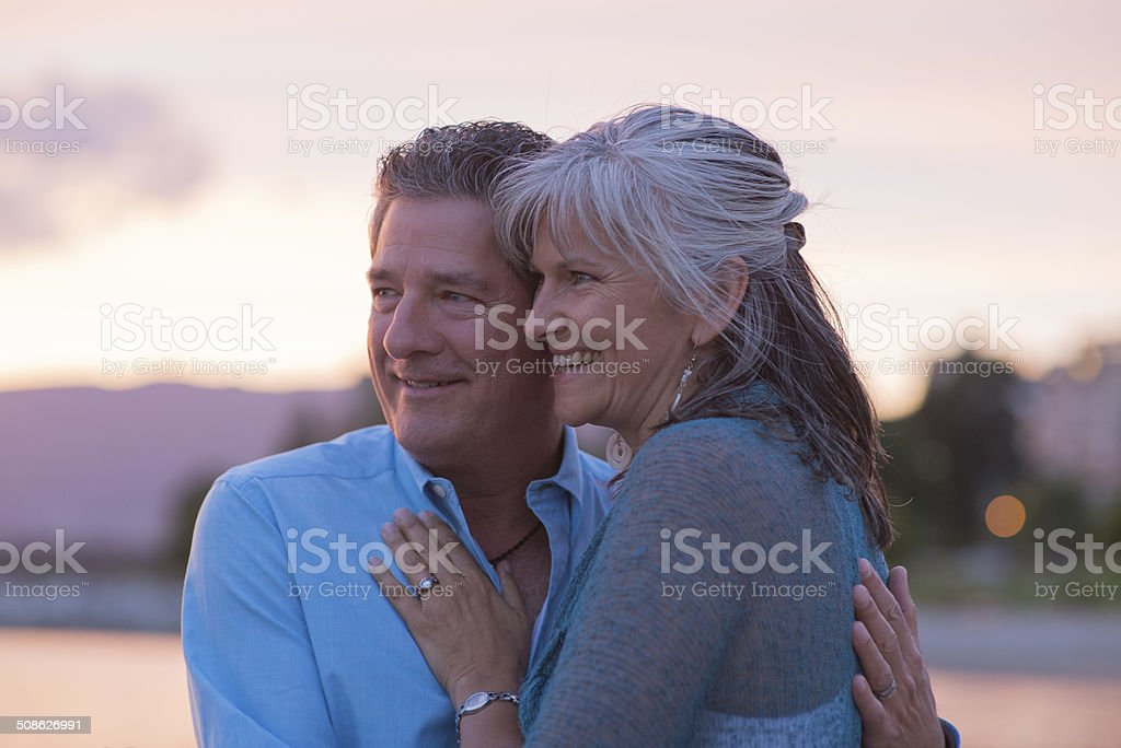 Attractive Mature Couple - Royalty-free Active Seniors Stock Photo