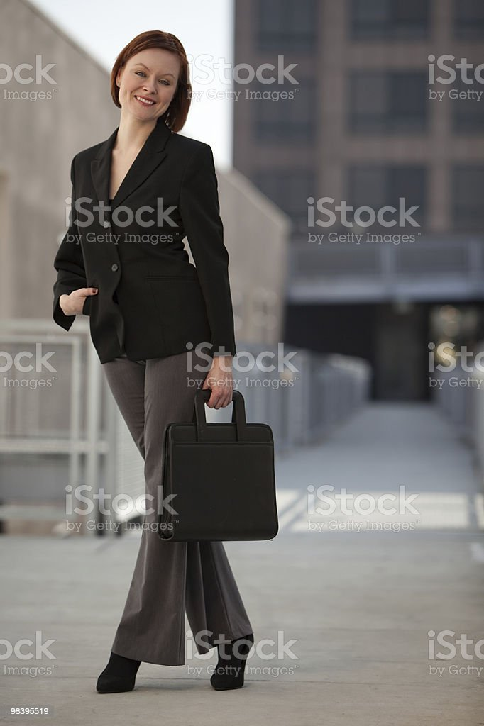 Attractive middle age caucasian businesswoman royalty-free stock photo