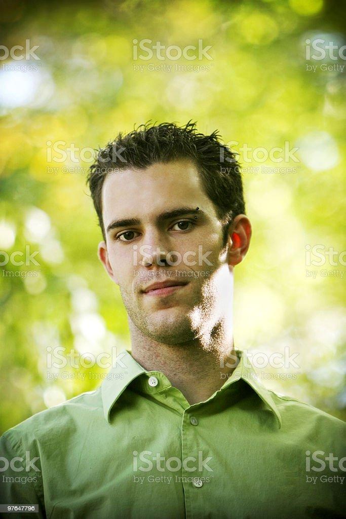 attractive portrait royalty-free stock photo