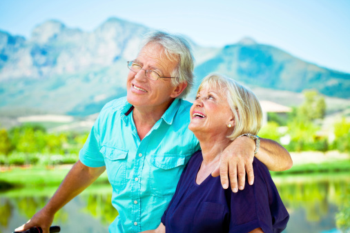 Attractive Senior Couple Stock Photo - Download Image Now