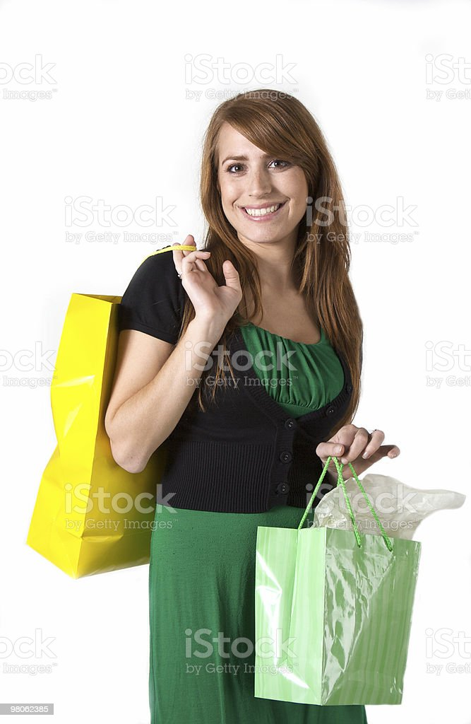Attractive Shopper royalty-free stock photo