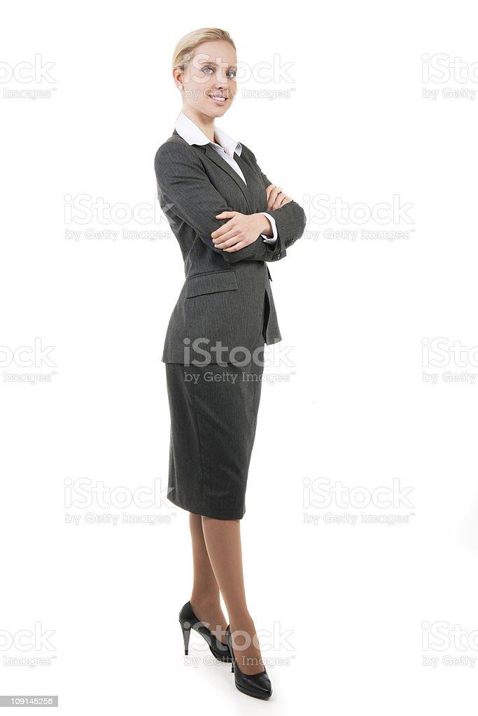 Schöne lächelnd business-Frau – Foto