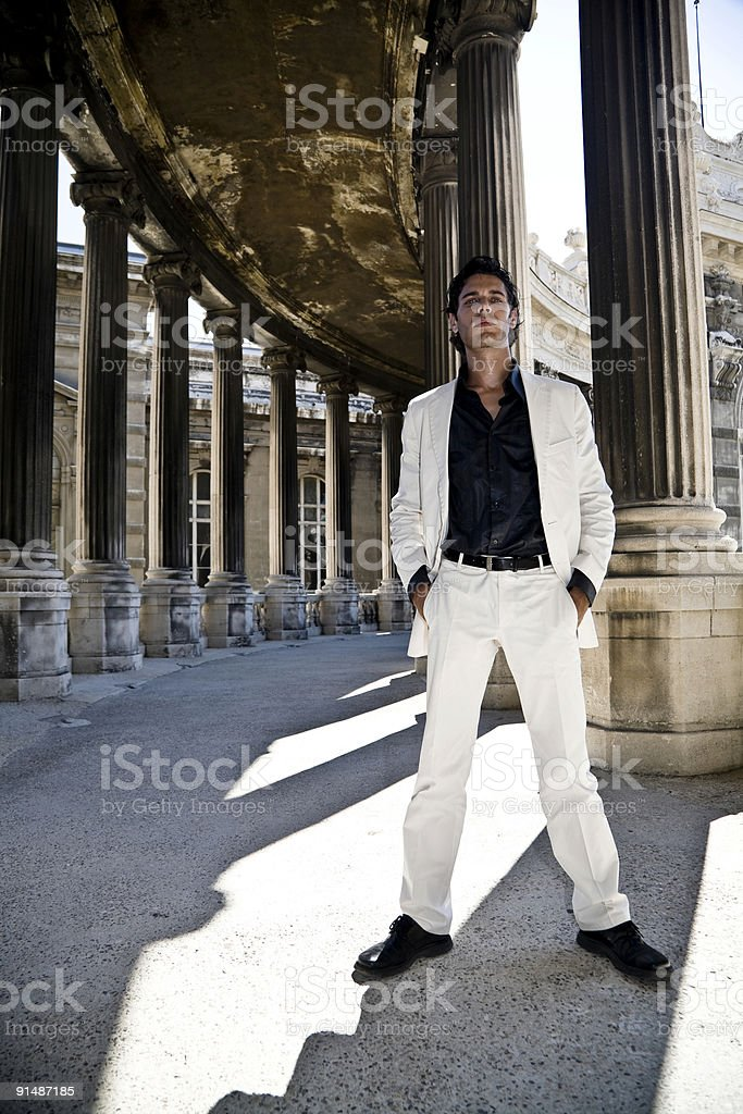 attractive snob royalty-free stock photo