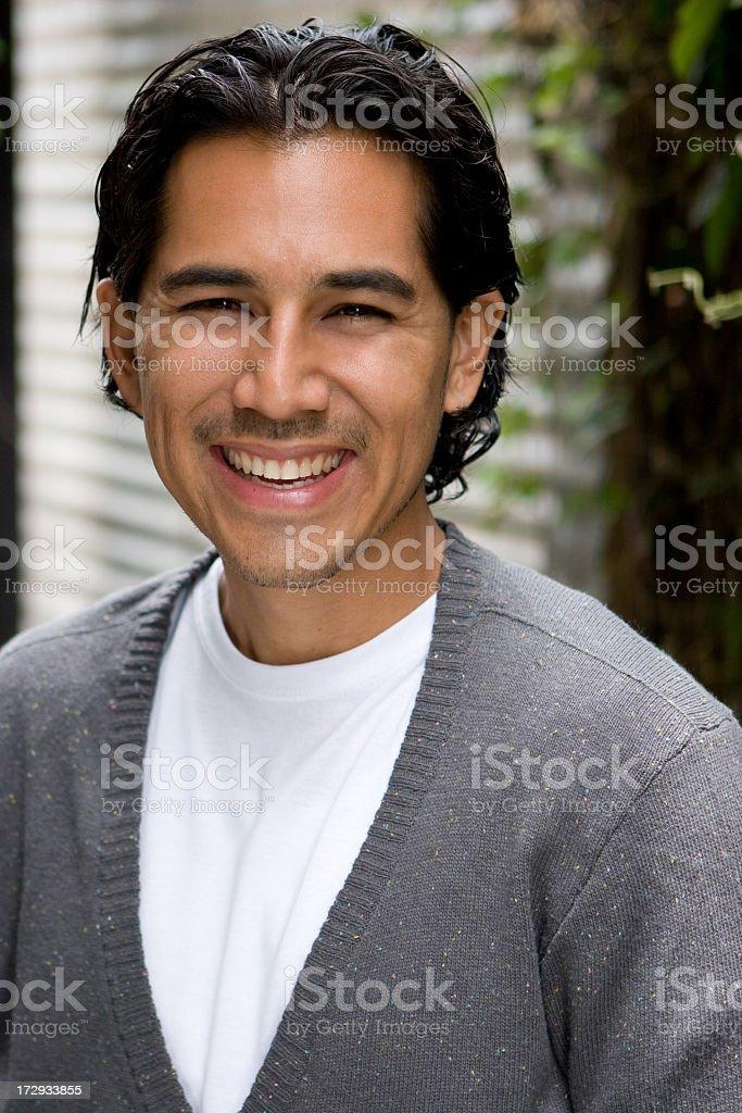 attractive spanish man
