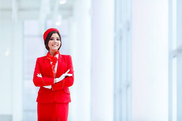 Best Air Hostess Stock Photos, Pictures & Royalty-Free