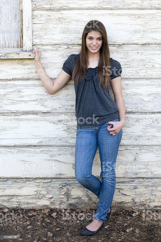 Attractive Teen Girl Model royalty-free stock photo