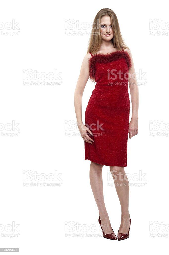 Affascinante donna caucasica anni Venti foto stock royalty-free