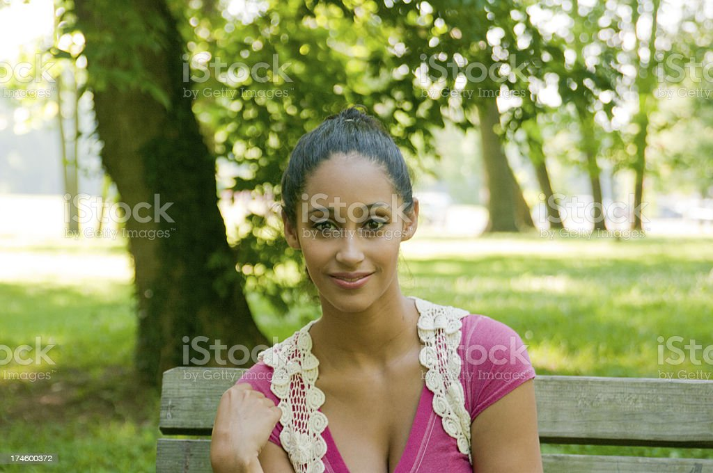 Attractive Woman - Head and Shoulders royalty-free stock photo