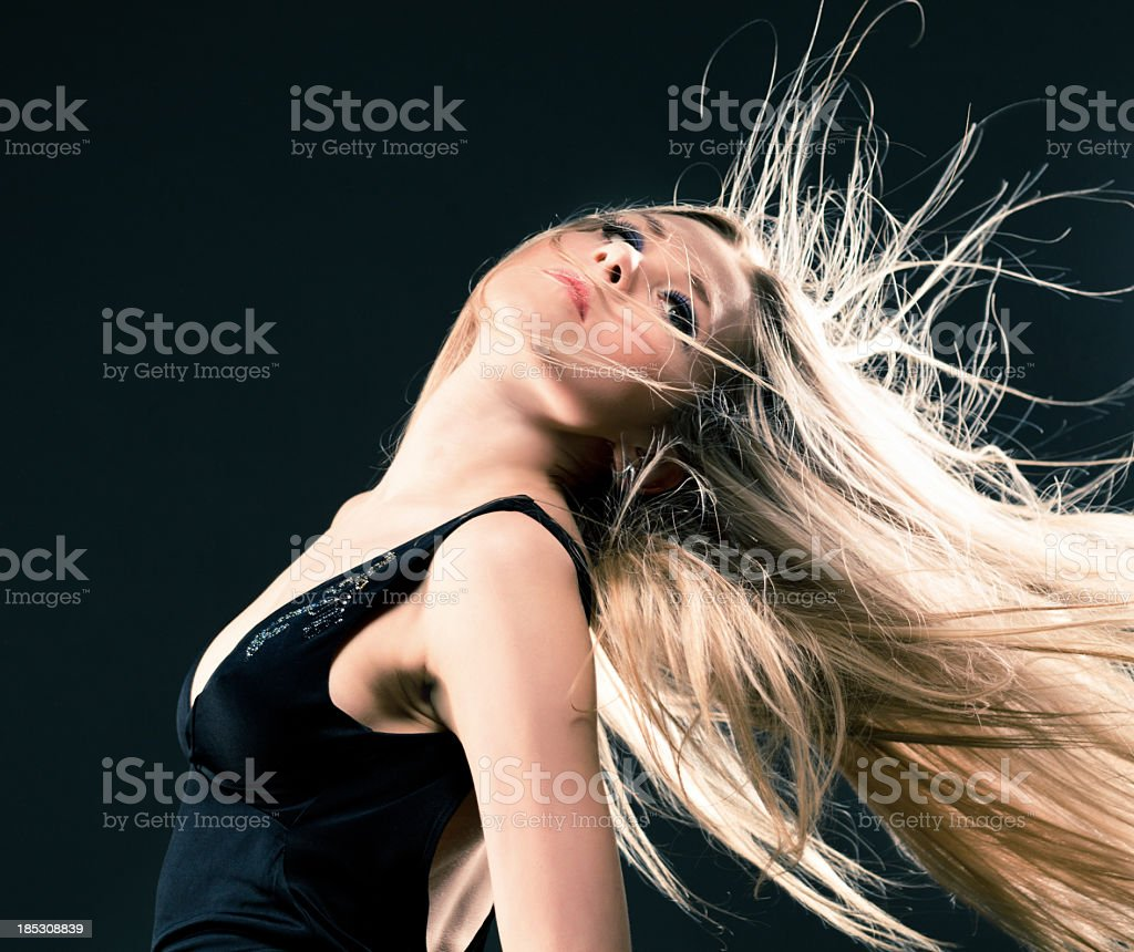 Attractive woman royalty-free stock photo