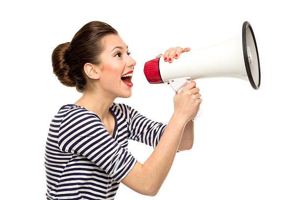 Image result for stock photo megaphone